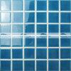 a telha cerâmica azul do mosaico de 48X48mm com gelo racha-se (BCK605)