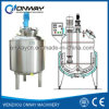 Pl Stainless Steel Factory Price High Efficient Liquid Mixing Machine of Mixing Tank Cosmetic Cream Mixing Machine(English)
