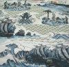 Ткань печатание комика для краткостей пляжа