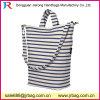 Form-Freizeit-weiße Farben-Segeltuch-Frauen-Handtasche mit Abnehmer-Firmenzeichen