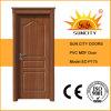 Puerta de madera del PVC de la corona del diseño moderno, puerta de la tarjeta del MDF (SC-P175)