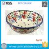 Tazón de fuente polaco del helado de la sopa del chile del cereal de la cerámica