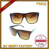 Lunettes de soleil en plastique bon marché des aperçus gratuits F6802