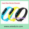 Bracelet sec de forme physique de silicium avec le traqueur de santé de moniteur du rythme cardiaque