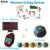 Sistema de radiobúsqueda de llamada sin hilos del número del paginador K-4-C+Y-650+K-M de la venta del hotel