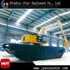 Excavatrice hydraulique de chat avec le ponton extensible Jyp-177