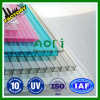 Clarabóia System 6mm Twin Layer Polycarbonate Sheet, PC Hollow Sheet de Plastic Sheet Twin Wall