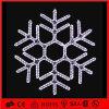 Weiße Schneeflocke-Motiv-Leuchte des Farben-Weihnachtenled