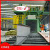 Attraversare tipo macchina di granigliatura per l'acciaio della struttura di pulizia
