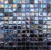 Tuiles de mosaïque en verre - noir iridescent (TR11)