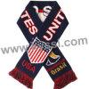 De Dubbele Partijen die van de Kop van de Wereld van Verenigde Staten 2014 de Verschillende Ontwerpen van de Sjaal van de Voetbal van de Jacquard breien