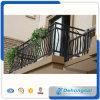 Гальванизированная загородка балкона ковки чугуна Faux с силой покрыла