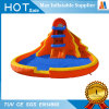 Fiesta de la familia de juguete de jardín inflable de diapositivas con piscina