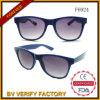 Óculos de sol plásticos feitos sob encomenda F6924 do frame de borracha