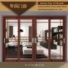 단순한 설계를 가진 전통 중국어 작풍 알루미늄 미닫이 문