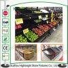 Cremalheira de indicador vegetal de dobramento da fruta do metal para a loja de varejo