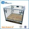 Pálete Stackable Foldable de aço dobrável da gaiola
