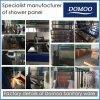 Detalles de la fábrica del fabricante inoxidable del panel de la ducha de Domoo