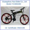 26 بوصة [250و] [350و] يطوي جبل درّاجة كهربائيّة مع مادّة مغنسيوم سبيكة عجلة