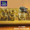 76 de nieuwe Gift van het Theekopje van het Glas van de Stijl met Infuser L4-C560