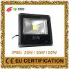 LED de ahorro de energía del reflector LED de 20W para la iluminación al aire libre con Ce (IP66)