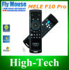 1 Fly Air Mouse + Wireless Keyboard + Remote Control、Mini Keyboard、Android TV BoxのためのMini Air Mouseに付き2014年のMele F10 2.4GHz 3