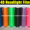 4D Cat Eyes Car Headlight Film pour Car Wrap