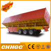 Semi-Trailer famoso de Carring de carvão do tipo 3axle do chinês