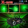 Luz laser de la sola animación verde del poder más elevado 5 W