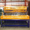 機械塀の溶接機を作る金網