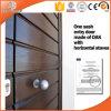 Gebildet in der China-hölzernen Innentür und in der Teakholz-hölzernen Tür und Windows, kundenspezifische eingehängte Tür-hölzerne Tür