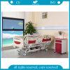 AG-By003c Usado para cama intensiva de hospital elétrico de cinco funções para cuidados intensivos para pacientes paralisados