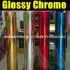 Лоснистое Chrome Vinyl Film для обруча Car