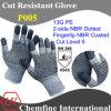 13G ЧП трикотажные перчатки с 2-х сторон NBR Пунктирные & NBR покрытием напальчника / EN388: 454X