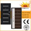 Puerta de acero de armadura de madera con el precio barato Sc-A203