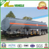 42-50 Cbm Hazardous Liquid Chemical Tank Tráiler