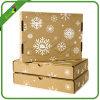 Gewölbter Kasten/gedruckter Papierkarton/Schuh-Kasten