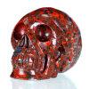 Brecciate Jasper Human Skull для Home Decoration (0V39)