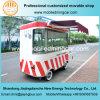 De de aangepaste Elektrische Vrachtwagen van het Voedsel/Kar van het Voedsel met Nationaal Octrooi en Ce
