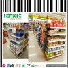 Cremalheira de exposição da prateleira do supermercado da gôndola
