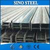 Acero galvanizado estándar de la viga de la viga I de Q235 GB H para el edificio