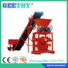 Bloco Qtj4-35b2 pequeno que dá forma à máquina do tijolo do Flyash da máquina