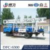 Plataforma de perforación montada carro Dfc-S300 del pozo de agua de la tabla rotatoria