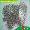Polvere lucida di scintillio di serie bianca d'argento non tossica calda di vendite