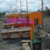 Serrería vertical de la venda del corte de madera duro con el carro