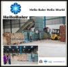 A máquina automática horizontal da prensa de empacotamento com transporte jejua Saller