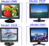 19 TÉLÉVISEUR LCD de l'affichage à cristaux liquides Monitor/19inch de pouce avec RoHS/19 le TFT LCD Computer TV Monitor