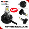容易なInstallation H6 H4 H7 24W Motorcycle LED Headlight Bulb