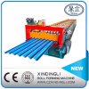 ベストセラーの人気のあるカラー鋼鉄水波の屋根のシート成形機械