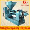 Máquina da imprensa de petróleo do expulsor da semente da grão da máquina de processamento do petróleo da grão